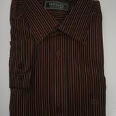 Стильная мужская рубашка Versace с длинным рукавом