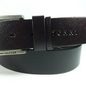 Джинсовый кожаный ремень Tommy Hilfiger 2 вида
