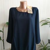 блуза синего цвета Tom Tailor