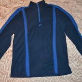 мужская микро флисовая поддева флиска свитер Crane размер S в идеале