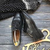 Кожаные туфли броги M&S 42-43