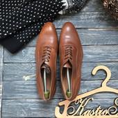 Кожаные туфли Zara р-р 45