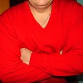 Брендовая стильная кофта свитр полувер  Pierre Cardin .хл-2хл .