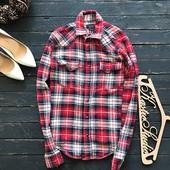 Стильная плотная рубашка Zara рр S