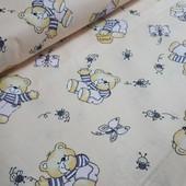 Комплект постельного белья Топтыжка, бязь