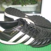 футзалки бутсы сороконожки копочки Adidas р. 40.5 ,стелька25.5 см кожа