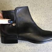 Новые женские ботинки,ботильоны,бренд Minelli, кожаные , 36 р