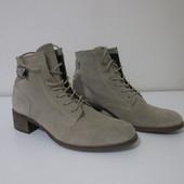Женские замшевые деми ботинки Minelli Франция Европа оригинал