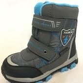 Зимние термо ботинки для мальчика, Том.М, размеры 27-32 в наличии