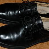 Кожаные туфли Salamander Marathon 44 р хорошее состояние