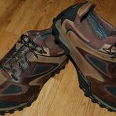 Кожаные Ботинки кроссовки 42 р Clarks GoreTex