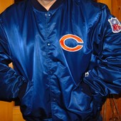 Оригинальная usa фирменная спортивная курточка бейсбол бренд Starter  хл-2хл .