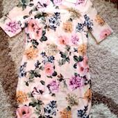 Котоновое платье р16 по бирке бренд Papaya Состояние - новое, Размер - L  новое с биркой бренд папай