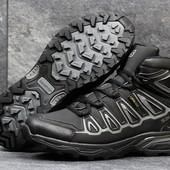 Ботинки зимние Salomon X-Ultra black