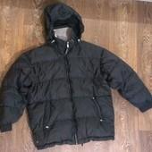 французский теплый пуховик термо-куртка, на наш р.44-46