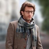 теплый элегантный шарф.ТСМ.чибо.Германия.170х30