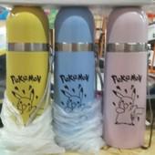Детский термос Pokemon (Покемон) со шнурком