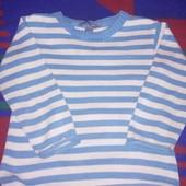 Полосатый свитер в детский сад 4-6 лет
