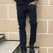 Джинсы Tommy Life брюки мужские плотные стрейч 0041
