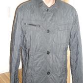 Стеганая фирменная  мужская куртка Santoryo