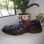 Кожаные туфли немецкого бренда Josef Seibel 45 р