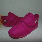 Тапочки войлочные Impidimpi 28р,ст 18 см.Мега выбор обуви и одежды