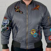 Стильная тёплая куртка ED Hardy