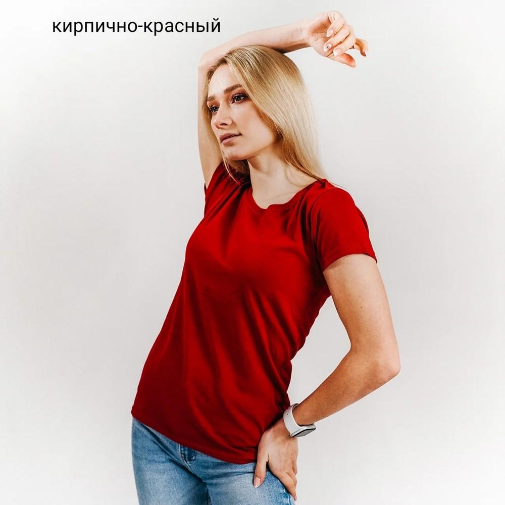 Женская футболка, лёгкая. хлопок фото №1