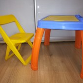 Детский столик и стульчик Pilsan