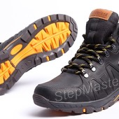 Ботинки кожаные зимние Timberland Pro Nubuck Black