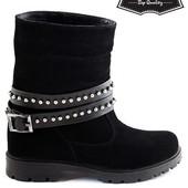 Женские ботинки. Натуральная кожа. Зима и осень на вы бор.