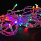 Гирлянда светодиодная 400 LED мульти 19,8 метров
