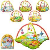 Коврик для младенца 001-4-6-8-11-13