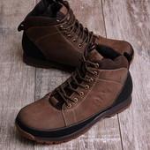 Мужские утепленные  ботинки 16581