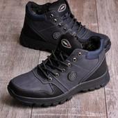 Мужские утепленные ботинки 16599