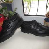Кожаные деми туфли Dr.Keller 44 р