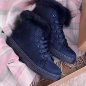Стильные женские зимние спортивные ботинки