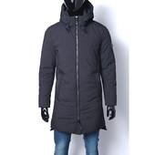 Длинная зимняя куртка