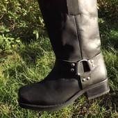 Сапоги, ботинки, деми кожа 41 размер