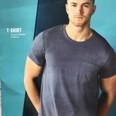 Стильная мужская футболка XXL 60-62 евро Livergy Германия