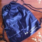 Черный легкий спортивный рюкзак