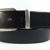Джинсовый кожаный ремень Calvin Klein