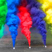 Набор Дыма для фотосессии - 5 разных цветов! Цветной дым