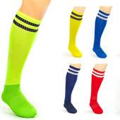 Гетры футбольные мужские 3256, 7 цветов: 40-45 размер, х/б + нейлон