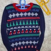 новогодний свитер на мальчика