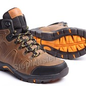 Ботинки кожаные зимние Timberland Pro Nubuck Olive