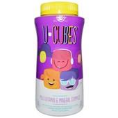 Solgar, U-Cubes, Витамины и минералы для детей, 60 шт, Солгар.