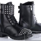 Модель: W9093 Ботинки женские на меху