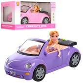 Машина для Барби, Кукла с машиной, звук, свет