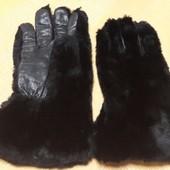 Тёплые кожаные перчатки Prova